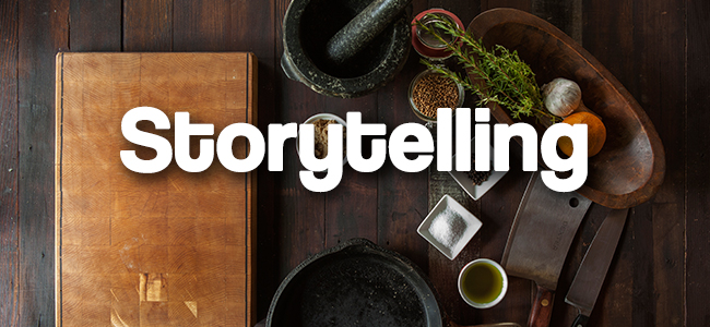 Storytelling, Marketing Gastronómico